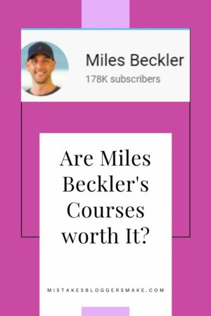 Have You Seen Miles Beckler's Free Courses
