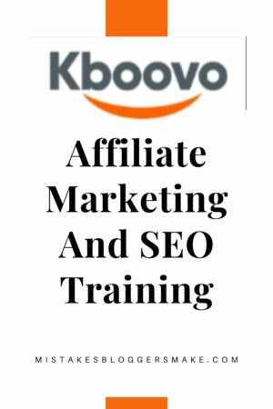 Kboovo affiliate marketing training