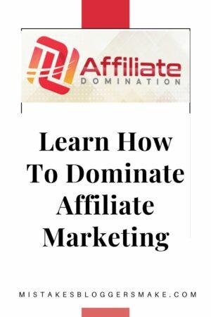 Dominate Affiliate Marketing
