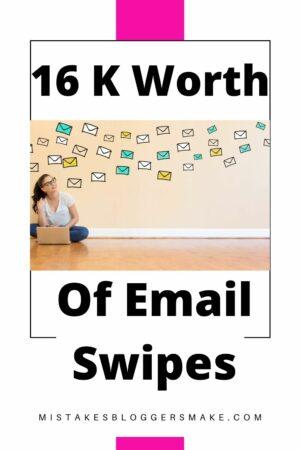 16 K Worth Of Email Swipes