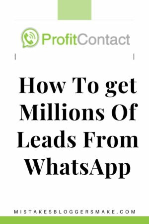 How To get Millions Of Leads From WhatsApp