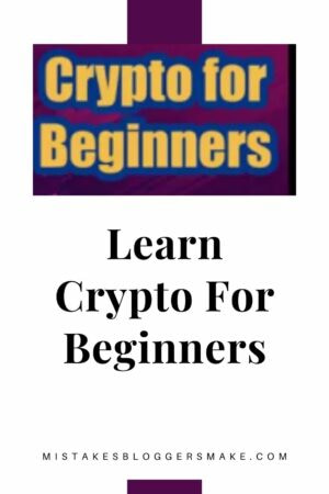 Learn Crypto For Beginners
