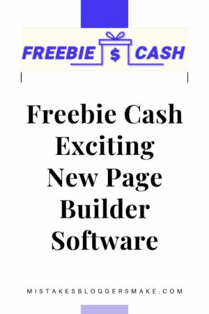 Freebie Cash Exciting New Page Builder Software