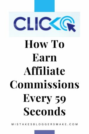 How To Earn Affiliate Commissions Every 59 Seconds