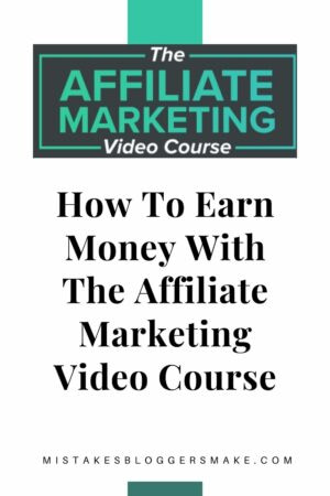 How To Earn Money With The Affiliate Marketing Video Course