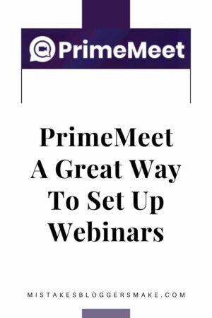 PrimeMeet A Great Way To Set Up Webinars