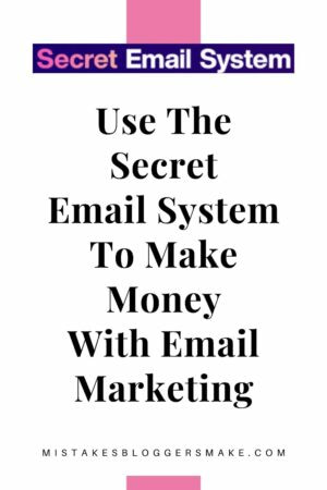 Use The Secret Email System To Make Money With Email Marketing