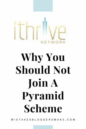 why you should not join a pyramid scheme