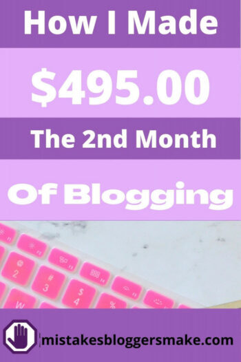 how-i-made-$495-the-2nd-month-of-blogging