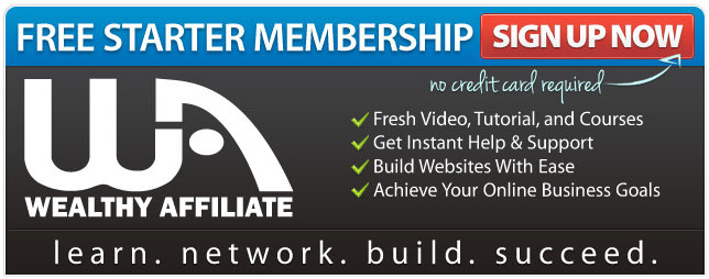 Free Starter Membership for Wealthy Affiliate